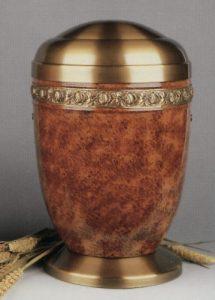Model: 1570rb-s urnă din oţel/alamă