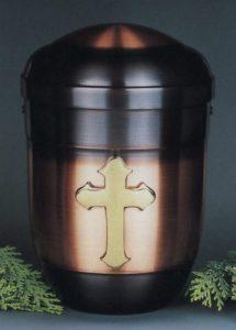 Modell : 40-3 Kupfer Urne