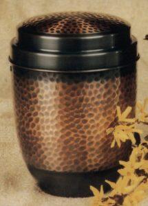 Model: 57-3 urnă din cupru
